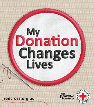 Red cross donation changes lives